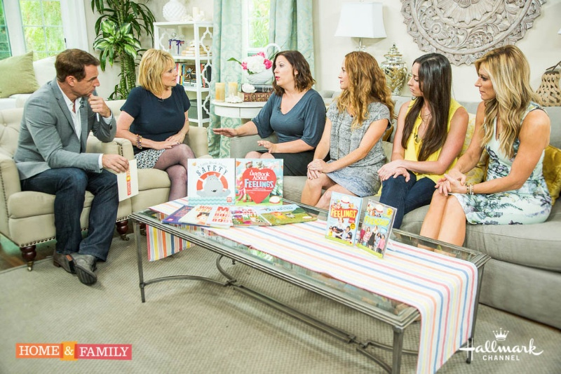 Mark Steines and Cristina Ferrare talk with The Mother Company's Abbie Schiller and Samantha Kurtzman-Counter.