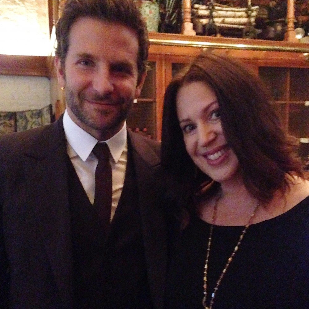 Me with Bradley Cooper