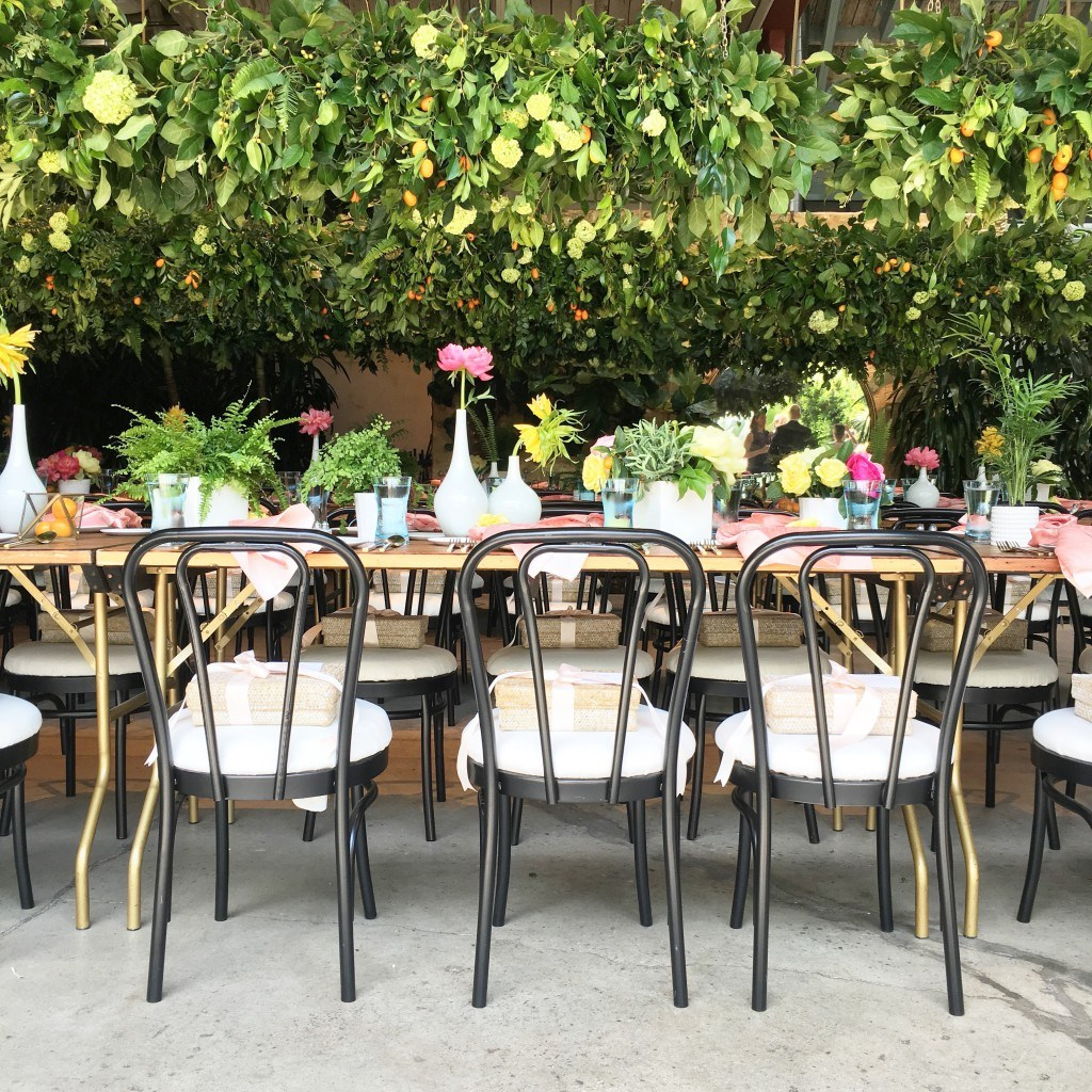 Gorgeous table setting at The Bump's Moms Movers and Makers Event 2016