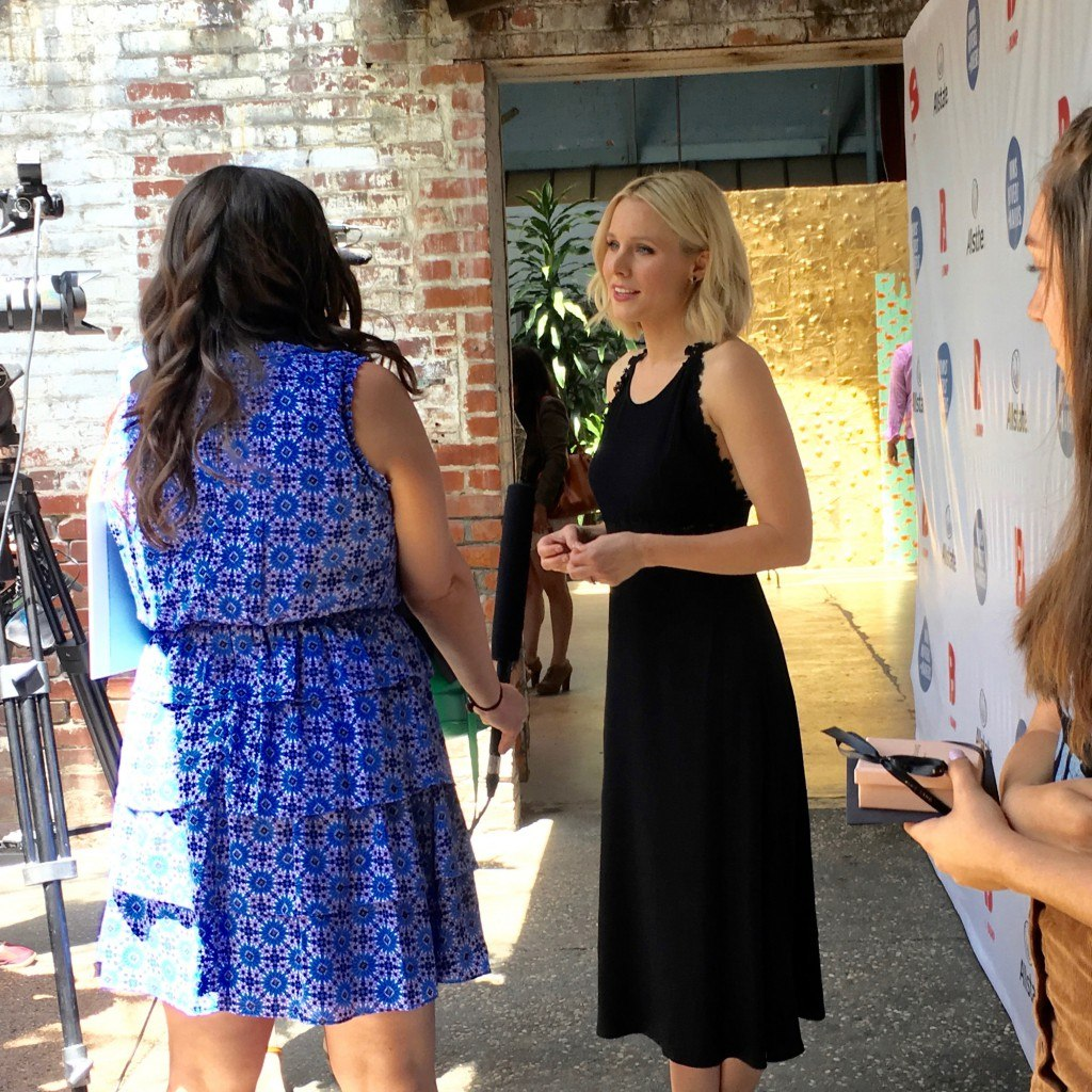 Kristen Bell at The Bump's Moms Movers and Makers 2016