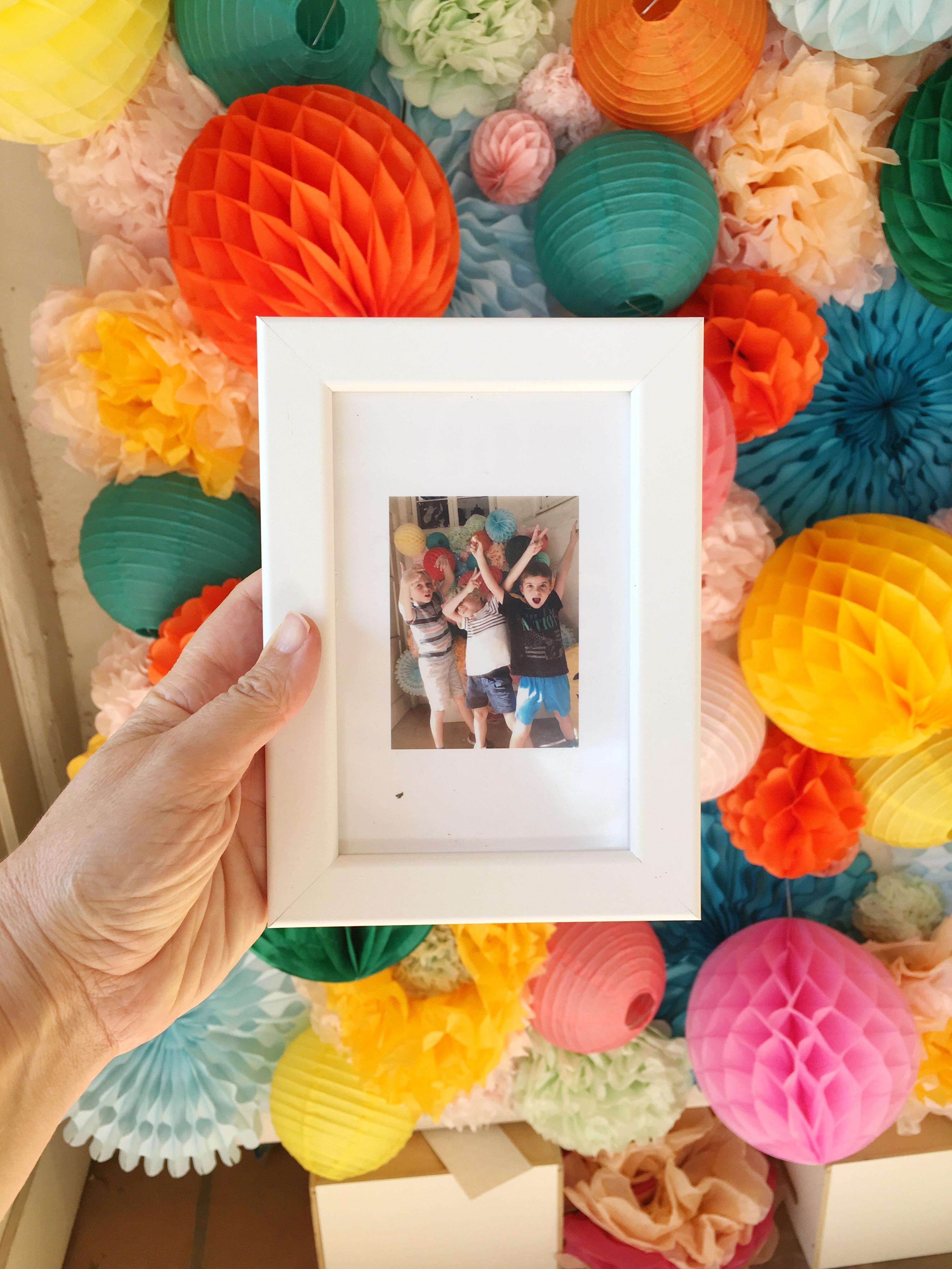 Photo Booth Framed