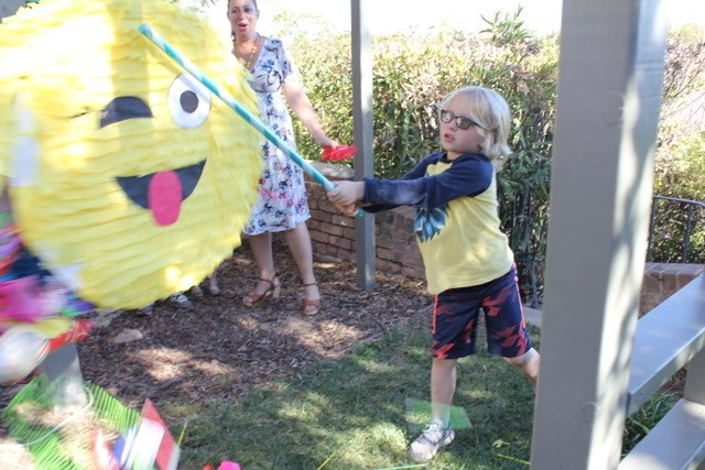 Pinata in action